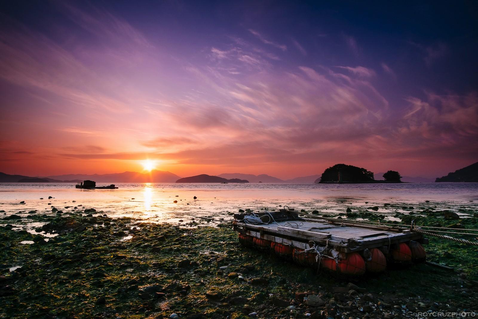 Sadeungmyeon Beach Sunset-1