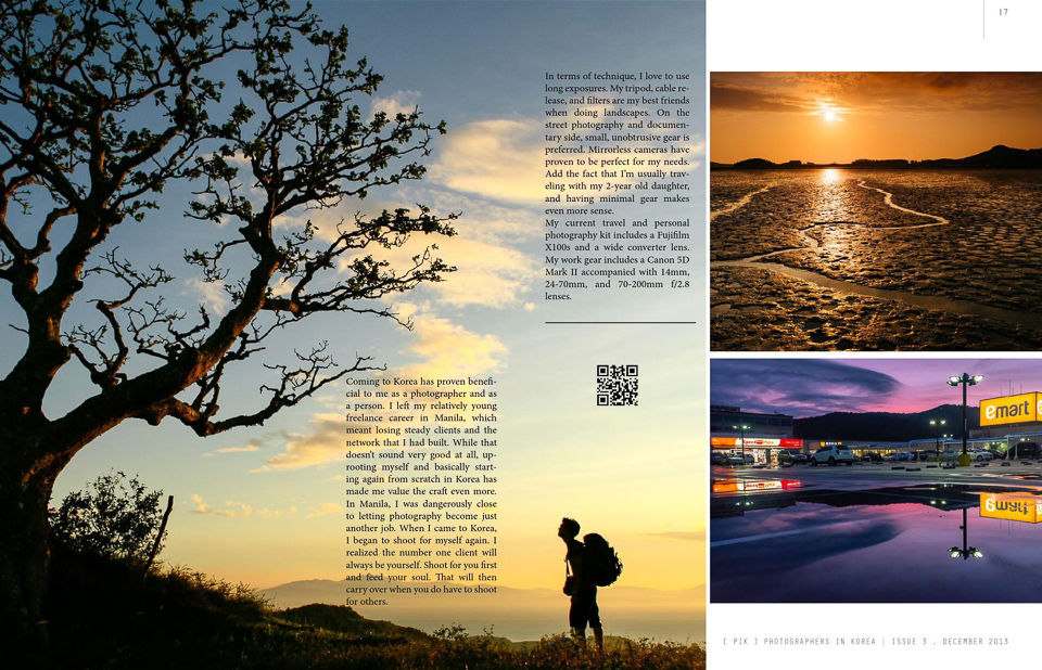 Korea Editorial Photographer PIK December 2013-2