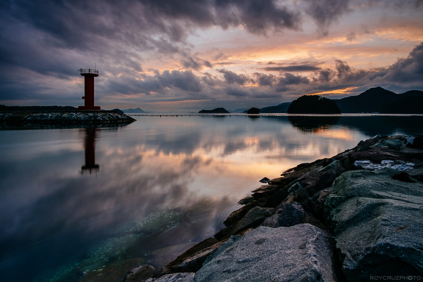 Tongyeong Lighthouse Sunset-1
